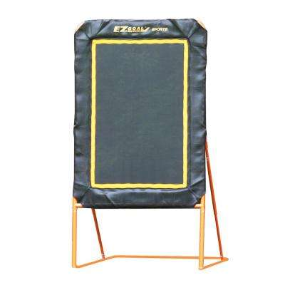 Professional Folding Lacrosse Throwback Rebounder with 6 ft. x 4 ft. Mat Area - 8 ft.