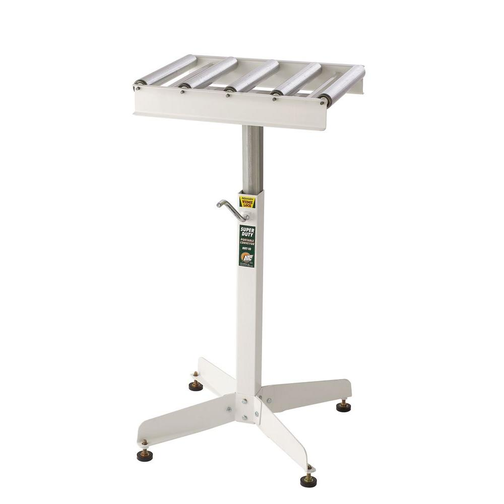 15 in. W Roller Table Portable Conveyor