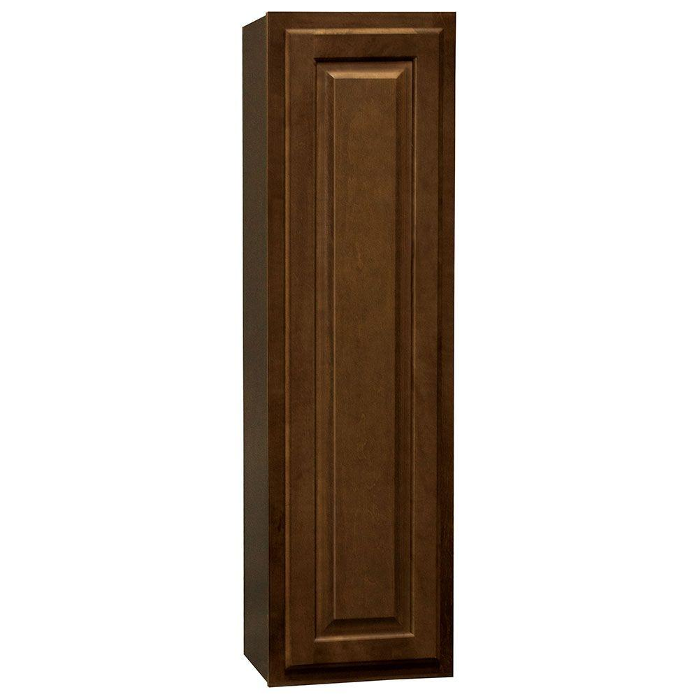 Hampton Bay Kitchen Cabinets Cognac: Hampton Bay Hampton Assembled 12x42x12 In. Wall Kitchen
