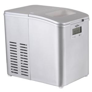 Portable Freestanding Ice Maker In Stainless Steel