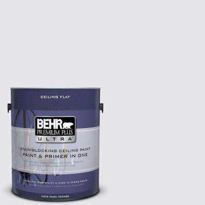 1-gal. #PPU16-6 Ceiling Tinted to Lilac Mist Interior Paint