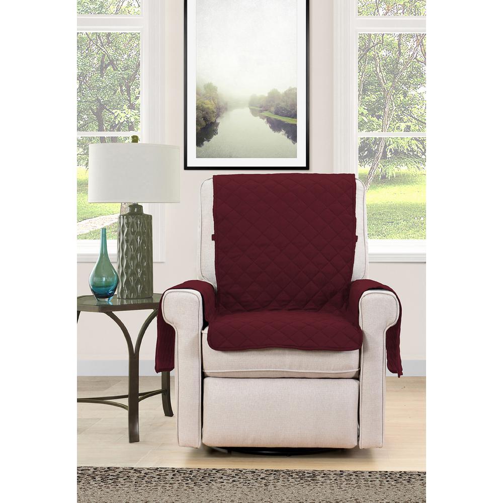 Barrett Microfiber Reversible Chair Protector
