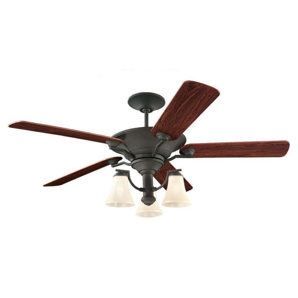 Somerton 56 in. Blacksmith Indoor Ceiling Fan
