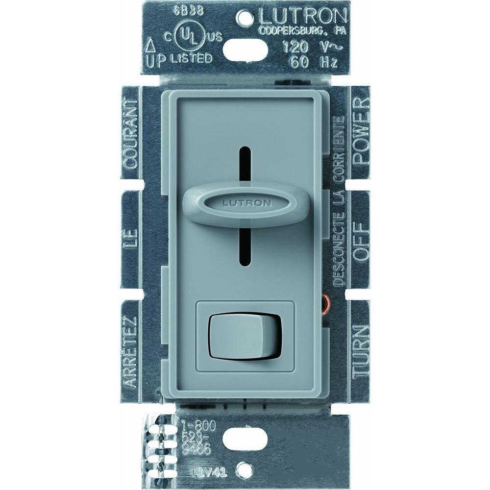 Lutron Diva 1000-Watt 3-Way Preset Dimmer, Greenbriar-DVSC-103P-GB ...