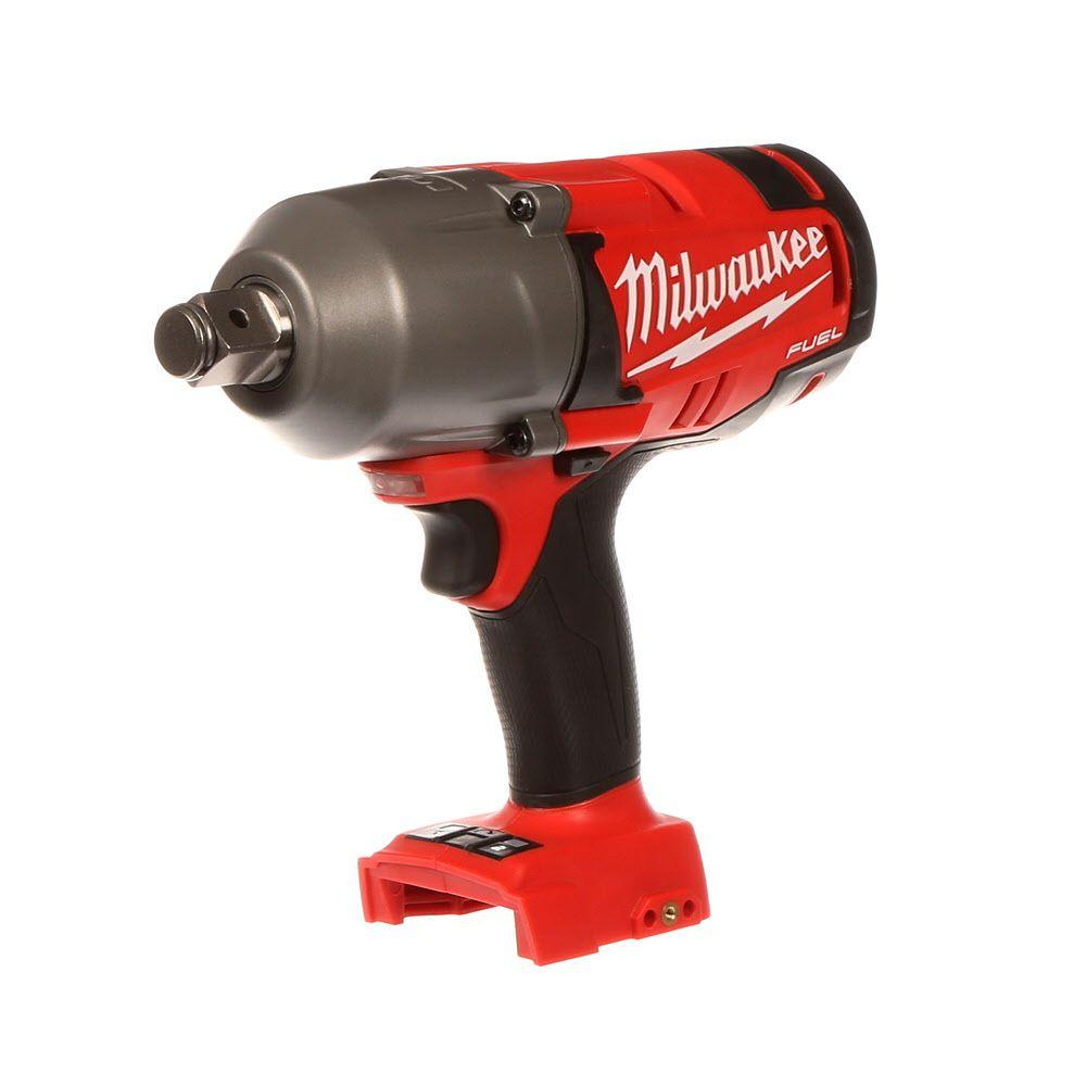 Milwaukee M18 FUEL 18-Volt Lithium-Ion Brushless Cordless 3/4 in. High Torque Impact Wrench with Friction Ring Kit (Bare Tool)