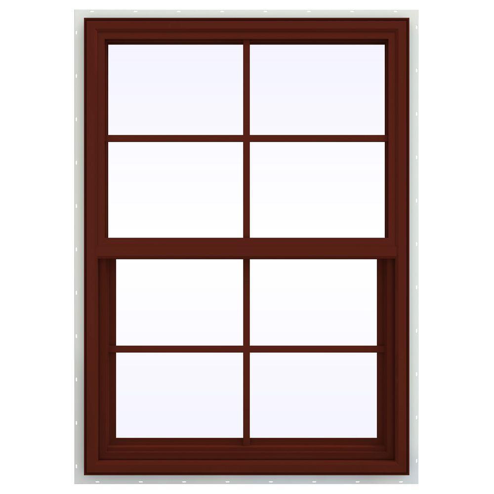 v4500 series vinyl awning window with gridsbuy jeld wen 29