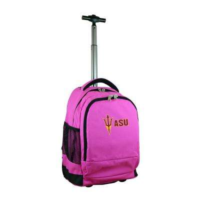 NCAA Arizona State Wheeled Premium Backpack Neutral