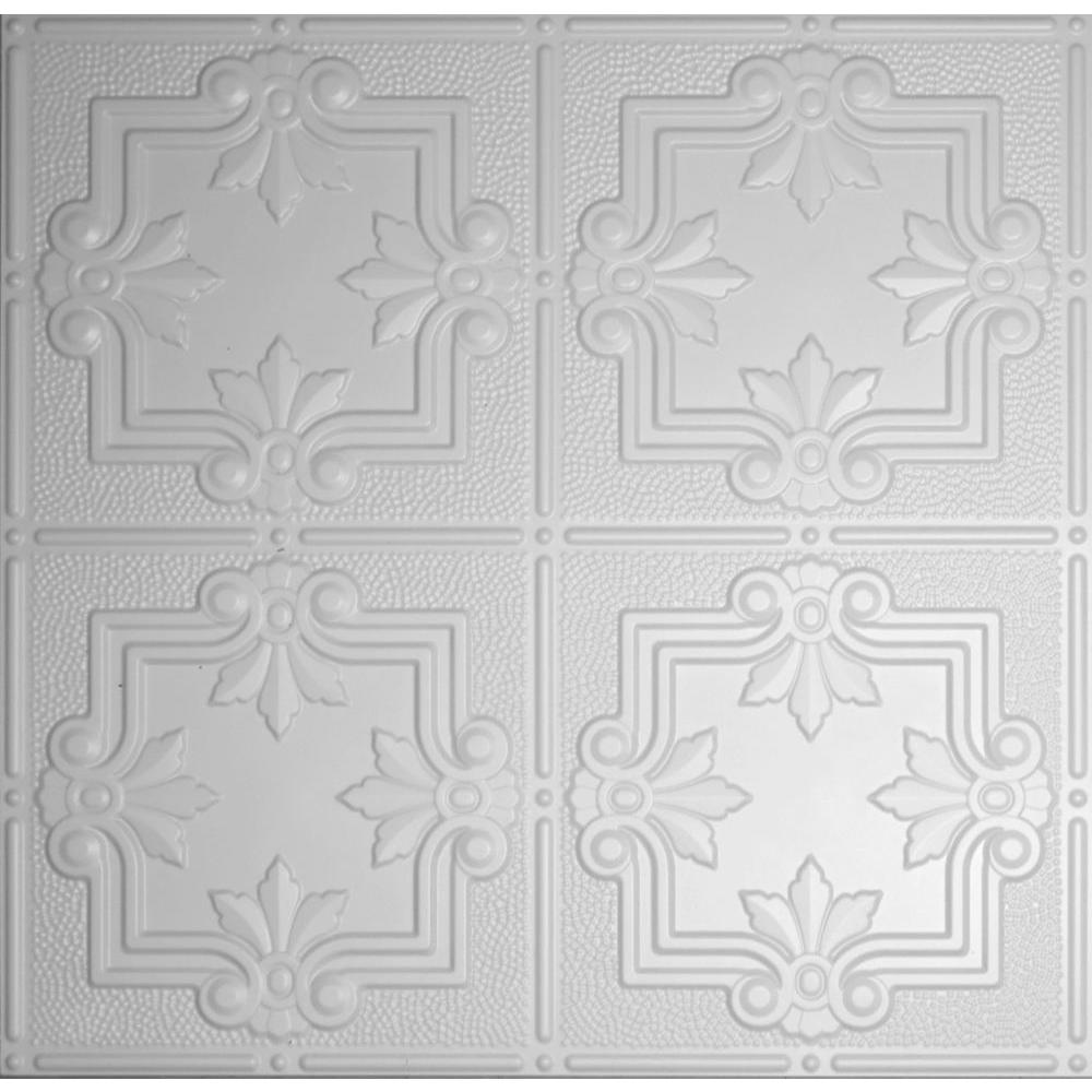 Global specialty products dimensions 2 ft x 2 ft matte white lay global specialty products dimensions 2 ft x 2 ft matte white lay in dailygadgetfo Images