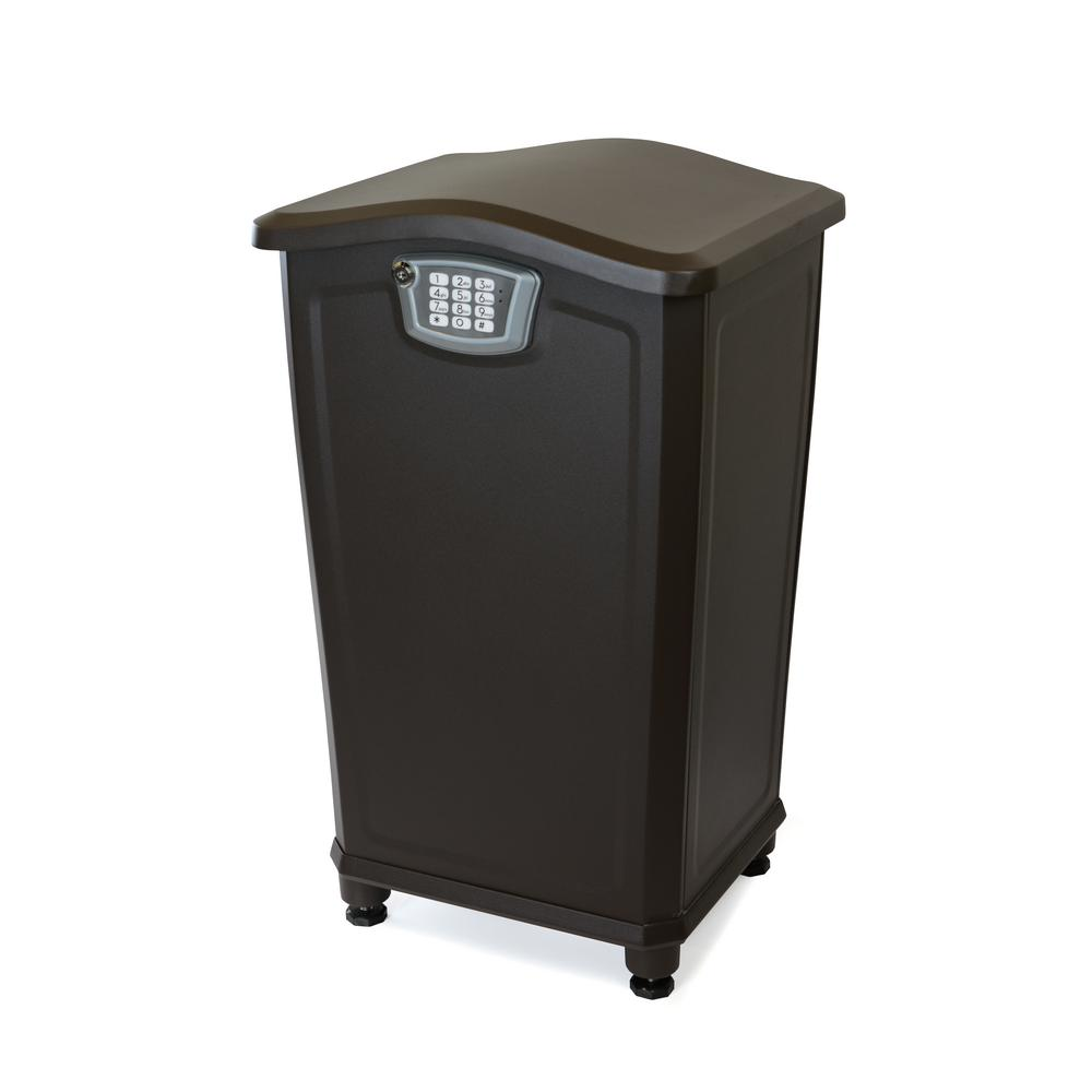 Architectural Mailboxes Elephantrunk II Locking Parcel Drop in Oil Rubbed Bronze