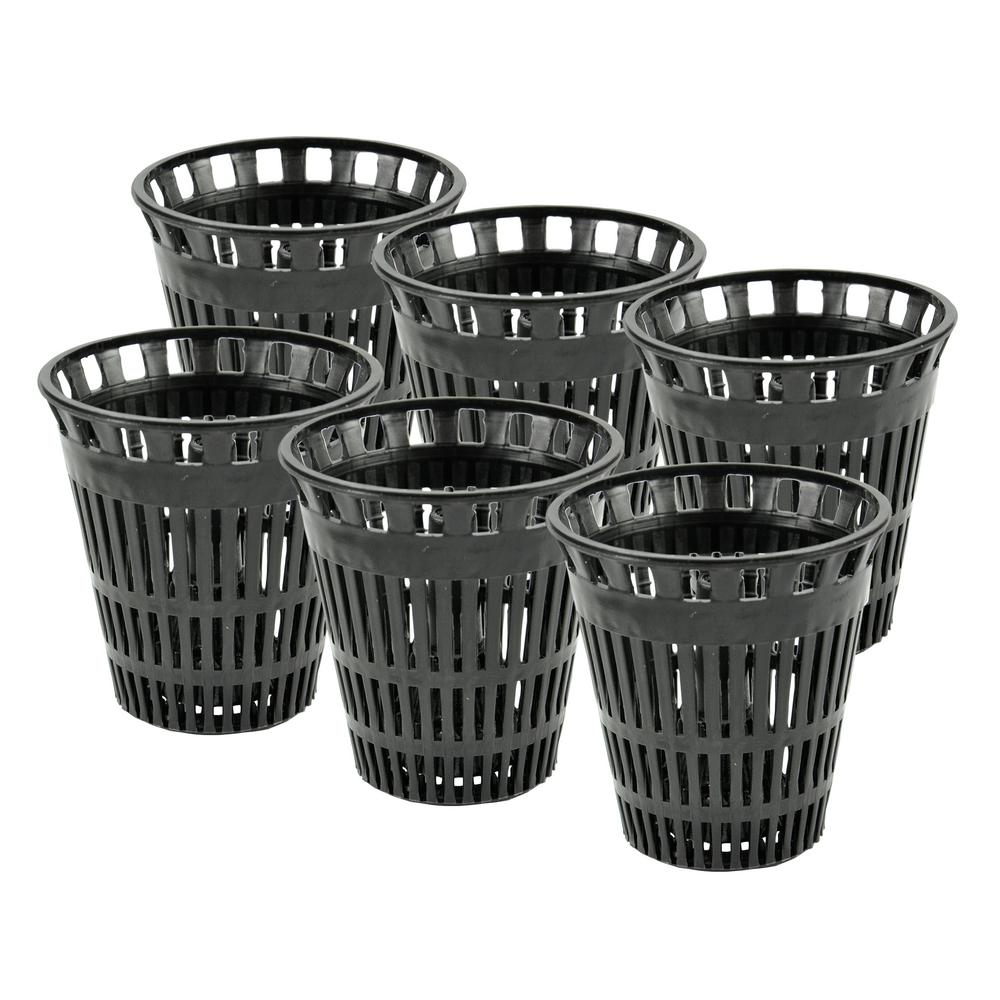 DANCO Hair Catcher Replacement Baskets for Shower (6-Pack)