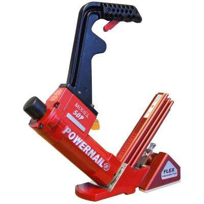 Pneumatic 18-Gauge Flex Hardwood Flooring Cleat Nailer
