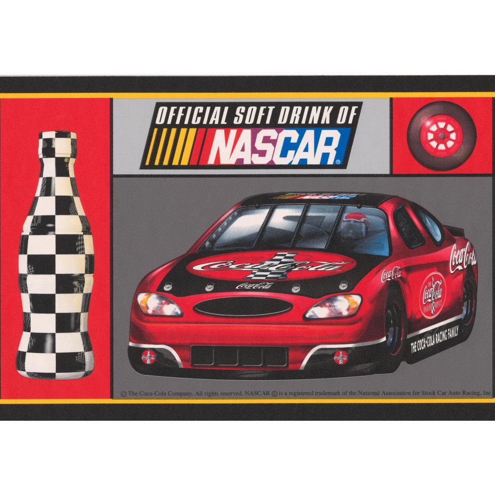 Retro Art Coca Cola Official Sponsor Of NASCAR Racing Cars