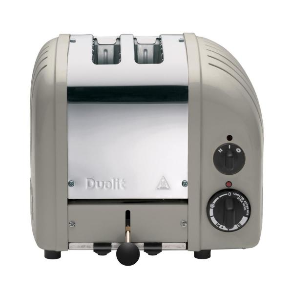 Dualit New Gen 2-Slice Shadow Wide Slot Toaster with Crumb Tray