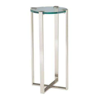 Uptown Polished Nickel Indoor Plant Stand