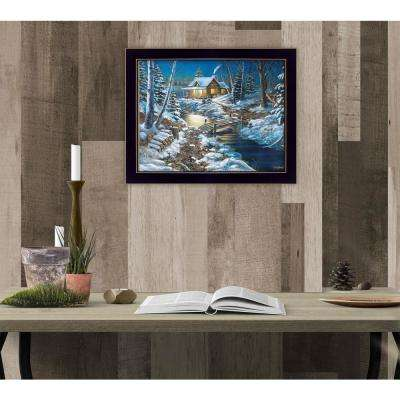 "11 in. x 14 in. ""Woodland Retreat"" by Jim Hansen, Printed Framed Wall Art"