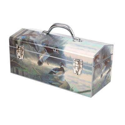 16 in. A Place to Park Dual Latch Art Tool Box