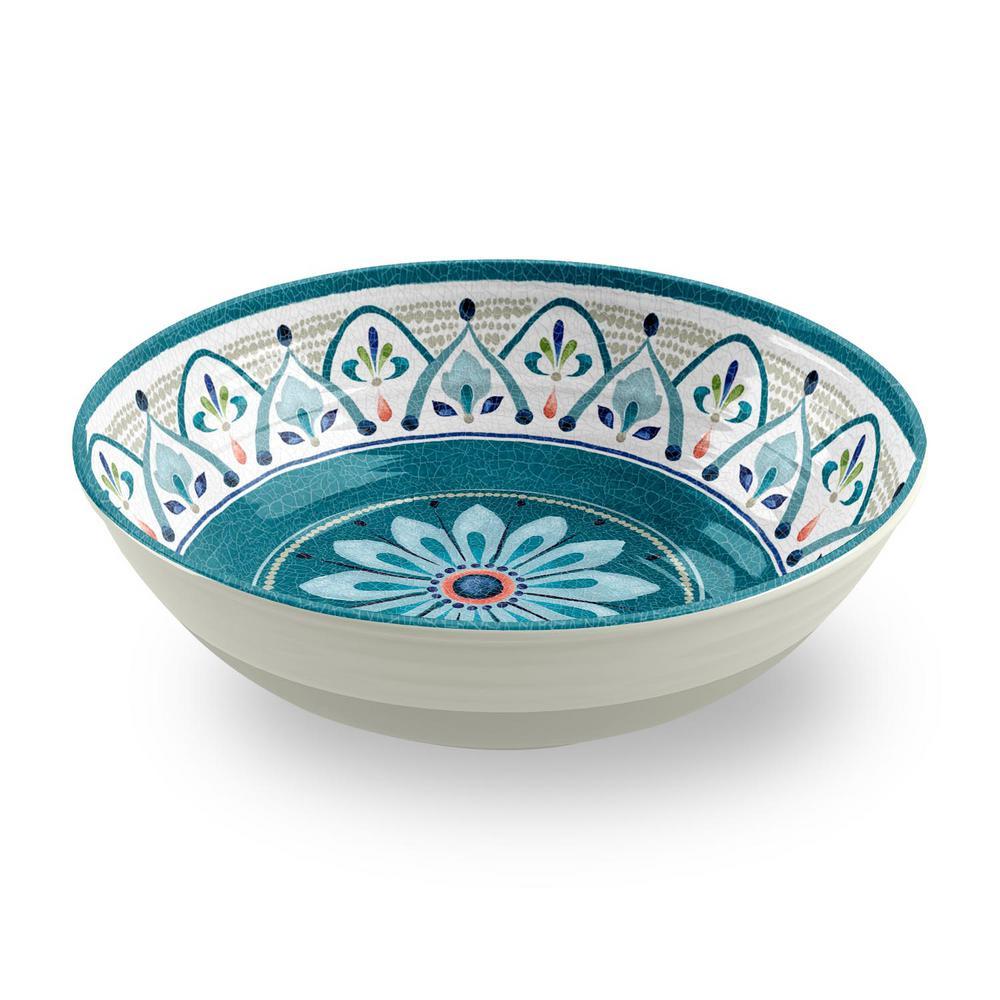 Moroccan Medallion Serve Bowl (Set of 1)