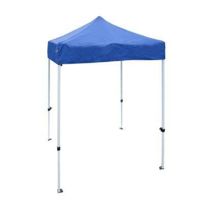 5 ft. x 5 ft. Blue Canopy Party Tent
