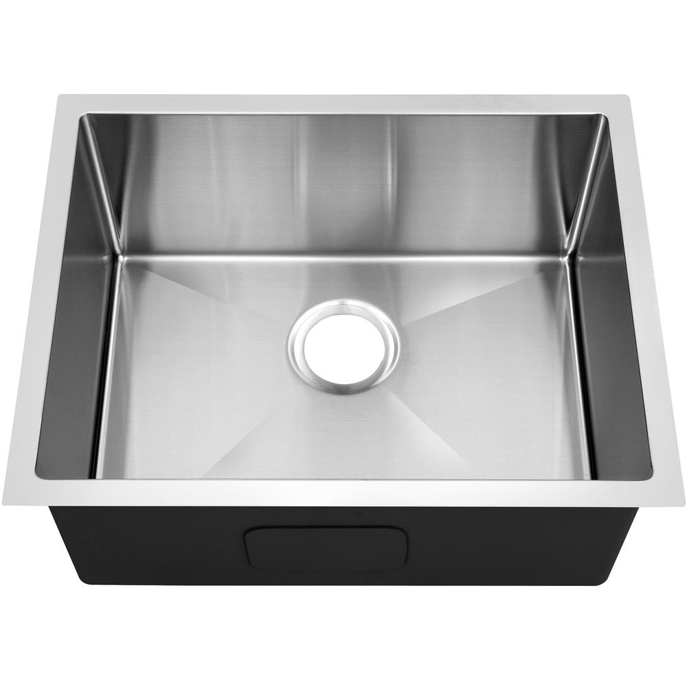 Y Decor Hardy Undermount Stainless Steel 20 In Single Bowl Kitchen Sink