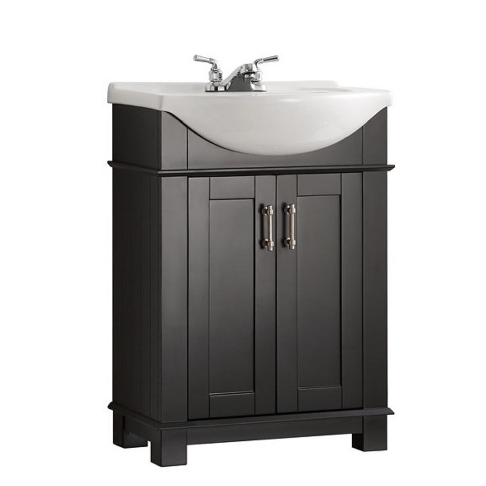 Fresca Hudson 24 In W Traditional Bathroom Vanity In