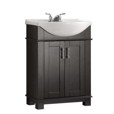Charming Hudson 24 In. W Traditional Bathroom Vanity ...