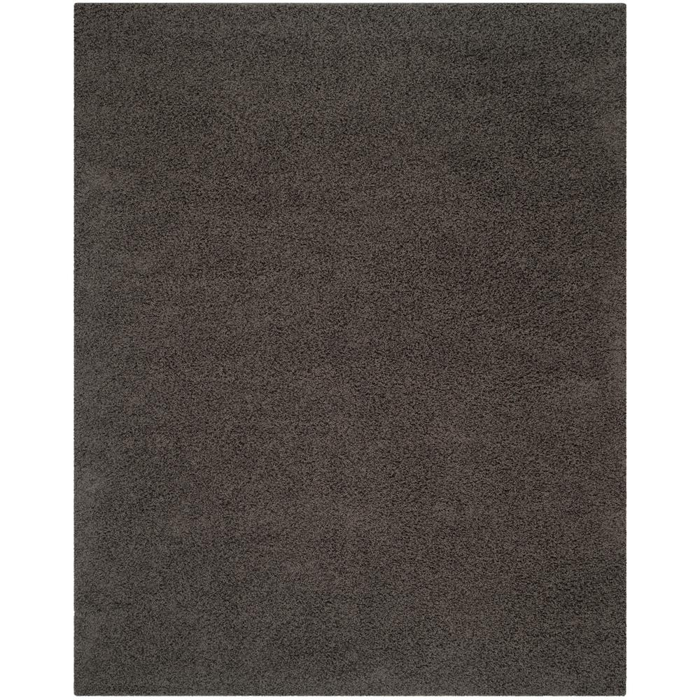 Safavieh Athens Shag Dark Gray 9 ft. x 12 ft. Area Rug