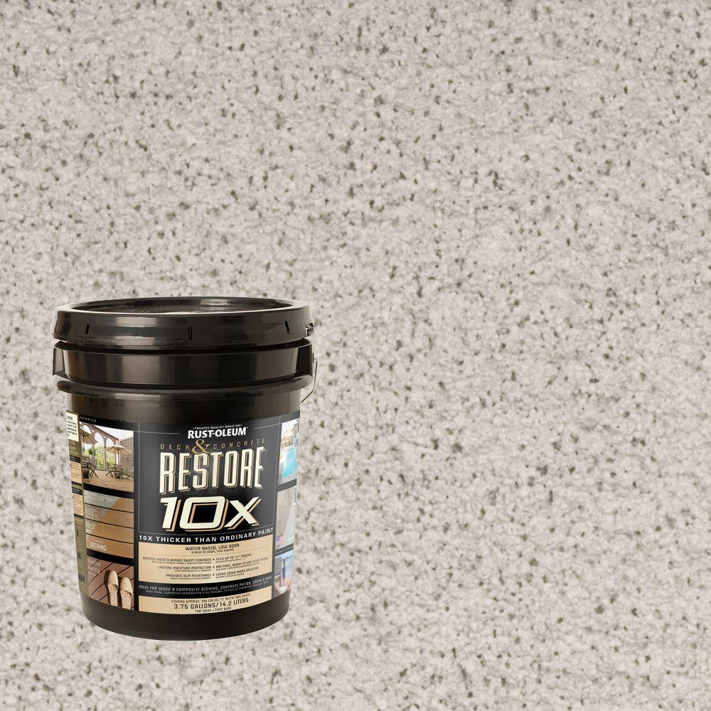 Rust-Oleum Restore 4-gal. Canvas Deck and Concrete 10X Resurfacer