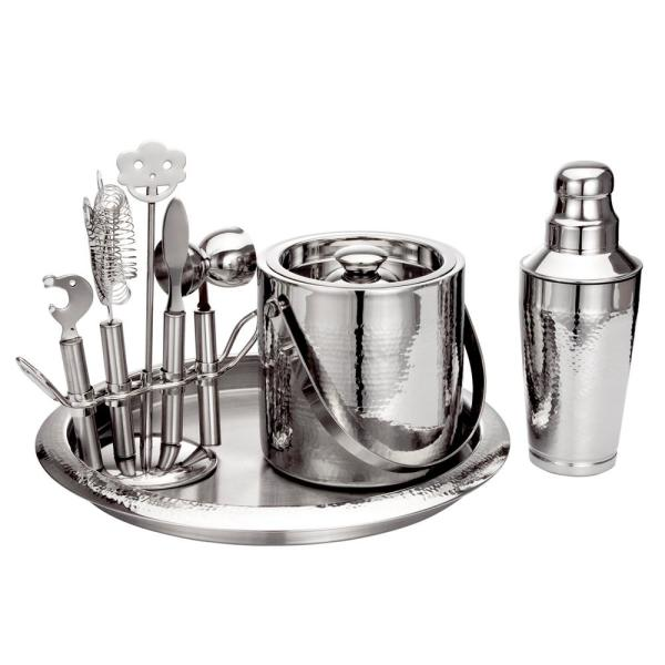 Hammered Bar Set with Tools 9233