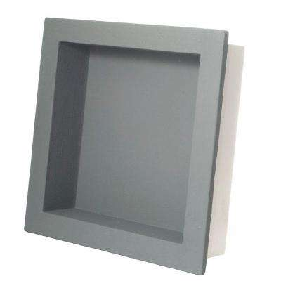 Fin Pan PreFormed 15-3/4 in. W x 15-3/4 in. H x 4 in. D Standard Single Shampoo Niche