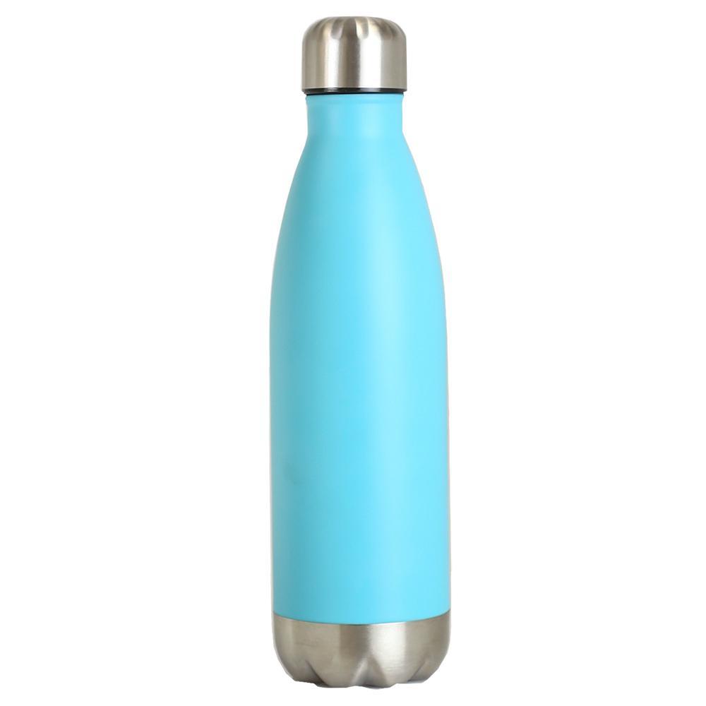 Home Basics 16 oz. Turquoise Travel Mug VF47292