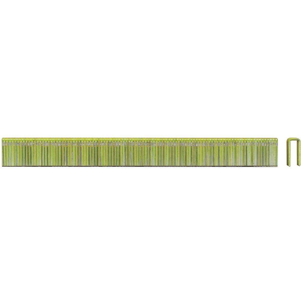 DEWALT 1/4 in. x 7/8 in. 18-Gauge Glue Collated Crown Staple (2500-Pieces)
