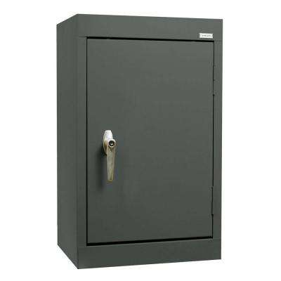26 in. H x 18 in. W x 12 in. D Wall Cabinet in Charcoal