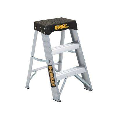 2 ft. Aluminum Step Ladder 300 lbs. Load Capacity Type IA Reach Height 8 ft.