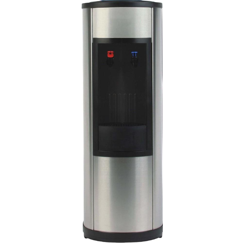 Igloo water cooler dispenser in stainless steel mwc519 the home depot - Home depot water container ...