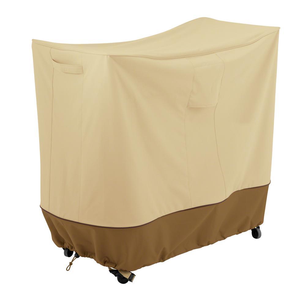 Veranda 42 in. L x 19.5 in. W x 35 in. H Double Handle Bar Cart Cover