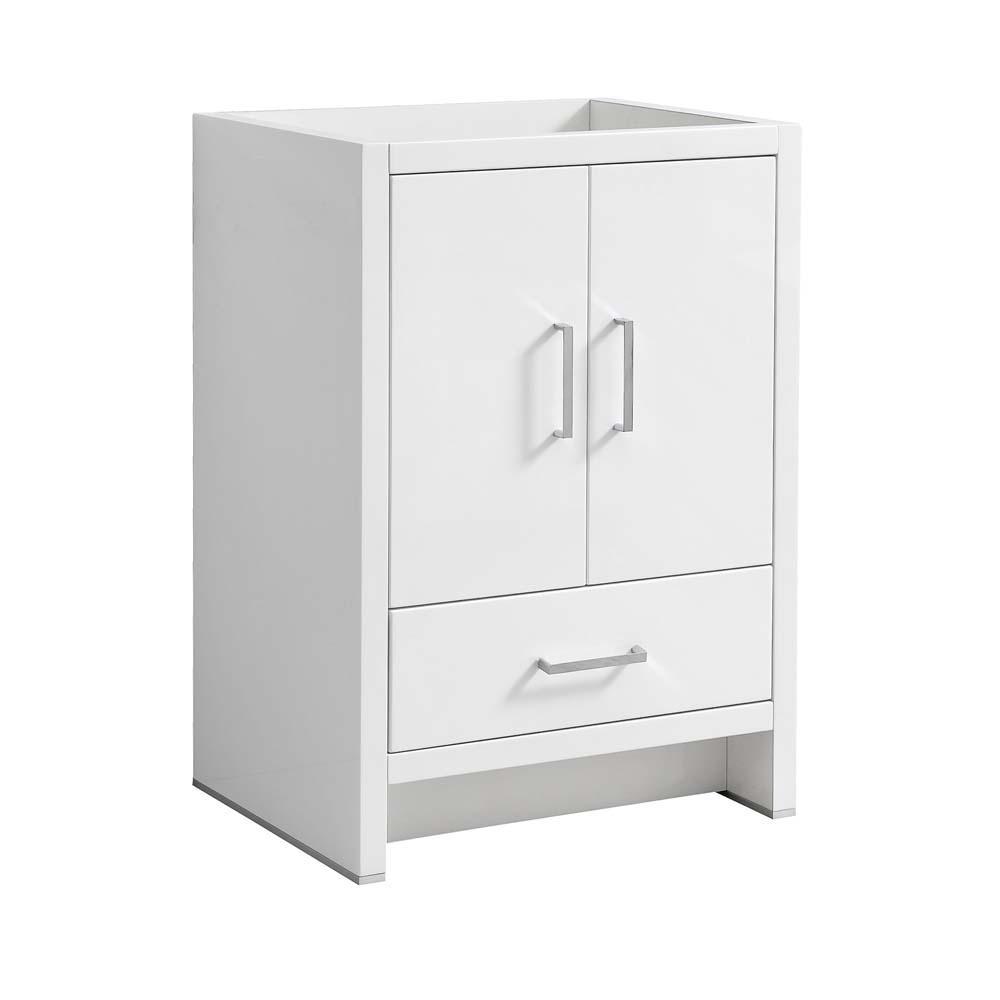 White 24 inch vanities bathroom vanities without tops - White bathroom vanity without top ...