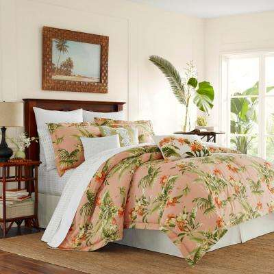 Siesta Key 3-Piece Full/Queen Duvet Cover Set