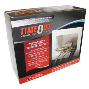 TimeOut 1/2 inch Brass Washing Machine Automatic Timer Valve with Installation... by TimeOut