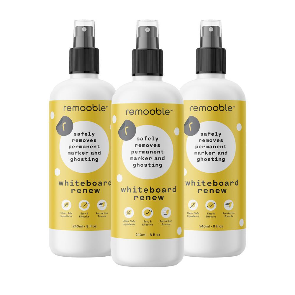 8 oz. Bio-Based Whiteboard Renew Cleaner (3-Pack)