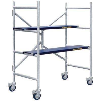 Job Site Series 4 ft. x 3-1/2 ft. x 1-3/4 ft. Scaffold 600 lb. Load Capacity