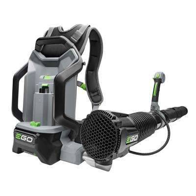145 MPH 600 CFM 56-Volt Lithium-Ion Cordless Electric Backpack Blower - Battery and Charger Not Included