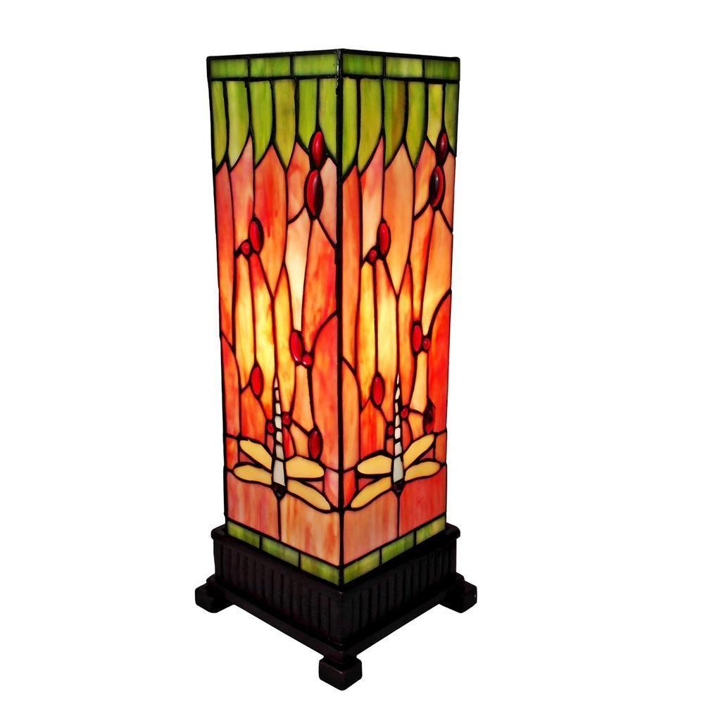 Etonnant Tiffany Style Dragonfly Table Lamp