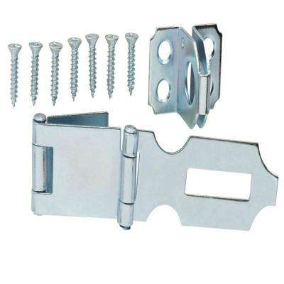 3 in. Zinc-Plated Double Hinge Safety Hasp