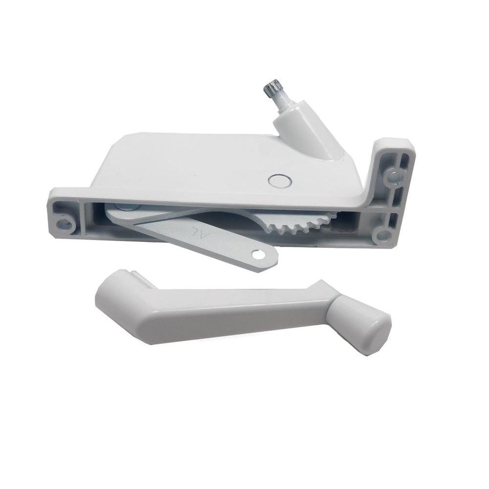 Keller/PGT 2-3/8 in. White Aluminium Right-Hand Awning Window Operator