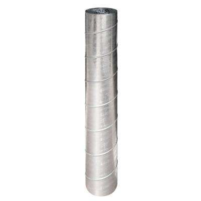 8 in. x 5 ft. 26 Gauge Spiral Pipe