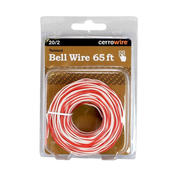 Cerrowire 65 Ft 20 2 Solid Bell Wire 206 0101ba3 The Home Depot