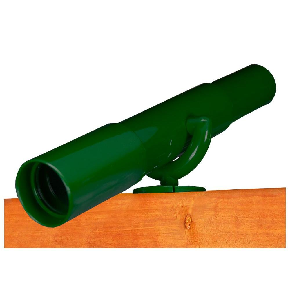 Play Telescope with Mounting Bracket in Green