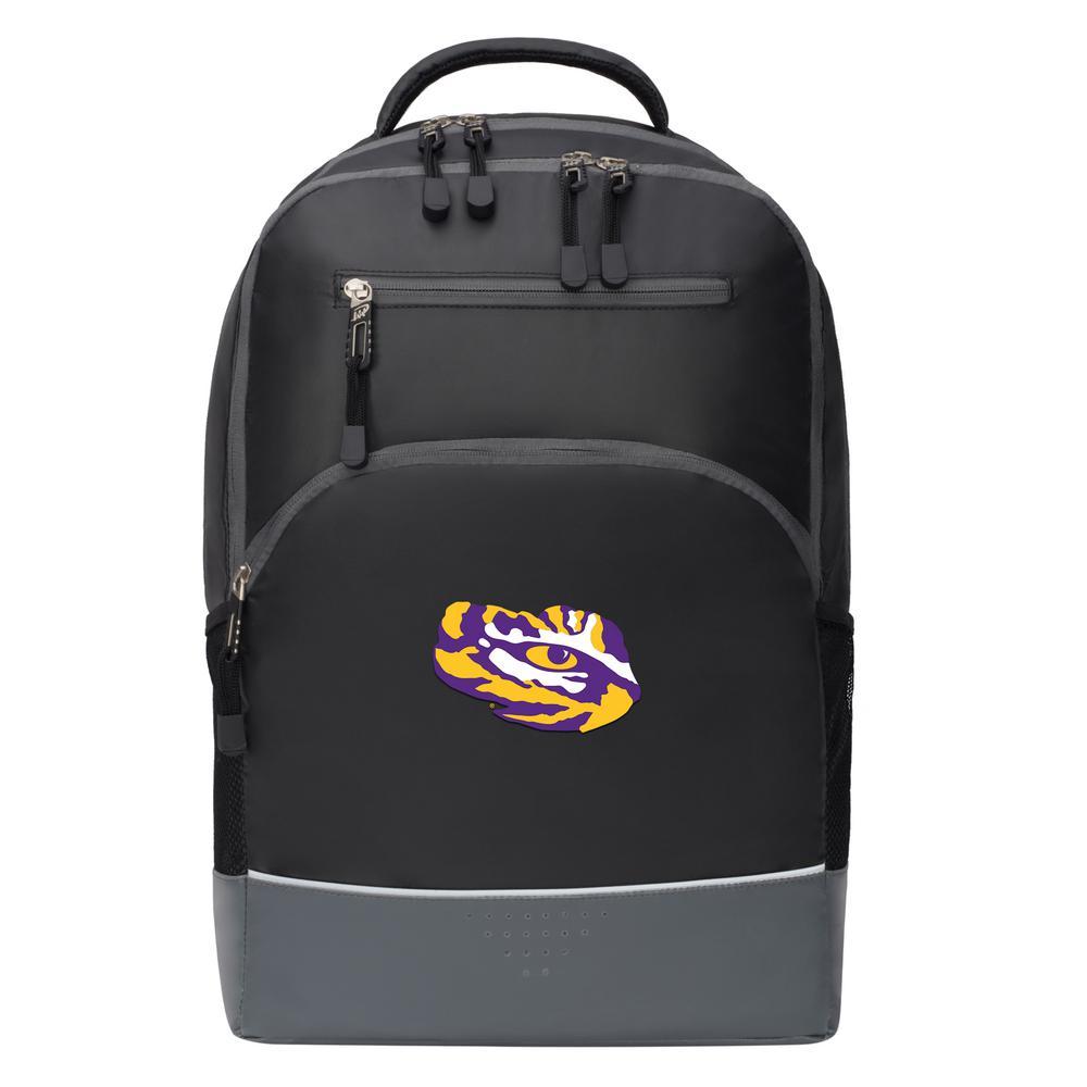 LSU 19 in. Black Alliance Backpack