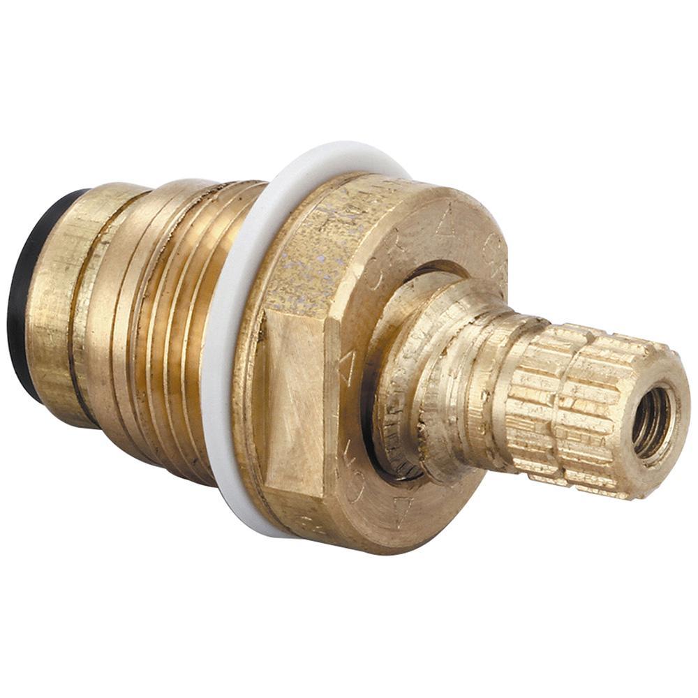 Central Brass Quick Pression Quarter Turn Cold Stem