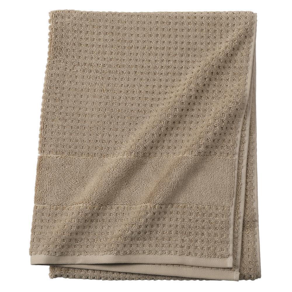 Fairhope 1-Piece Turkish Bath Towel in Almond